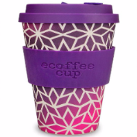 Eco-friendly coffee cup.